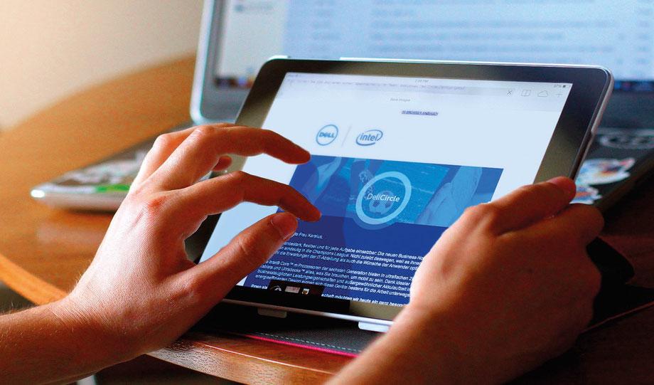 E-Mailings und Newsletter | Dell GmbH | Auftraggeber: Chromedia GmbH