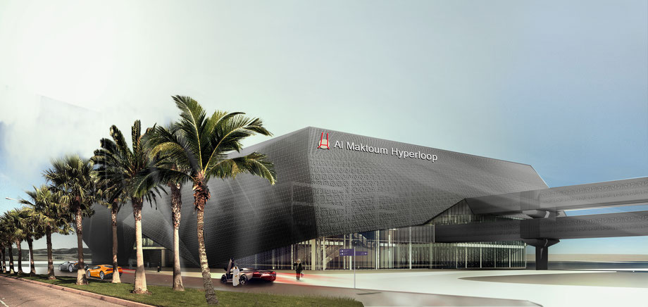 Al Maktoum Hyperloop