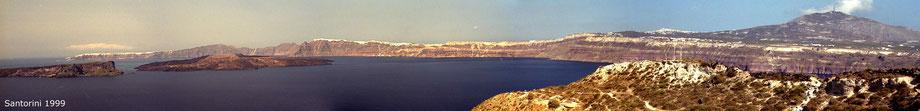 Santorini-Panorama
