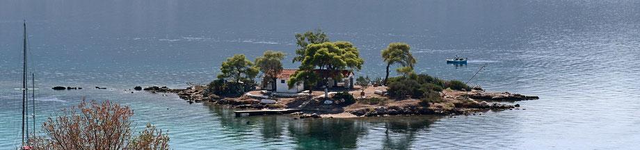 das Inselchen Daskalio