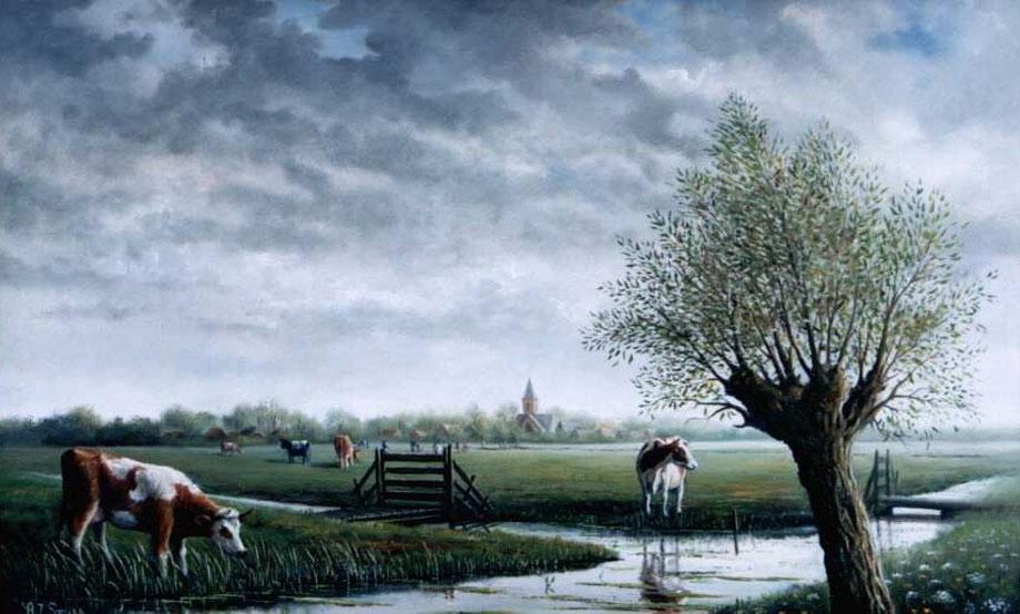Landschap bij Hekendorp