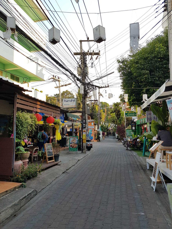 Die Straßen von Chiang Mai