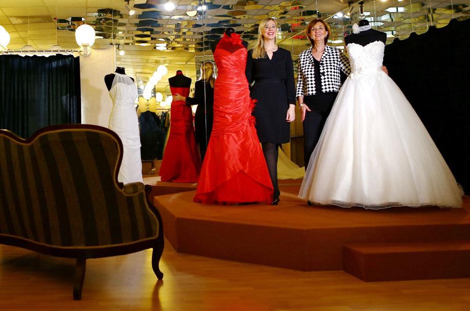 Brautmoden van der Meché-Hetzel - Team Brautkleid Abendkleid