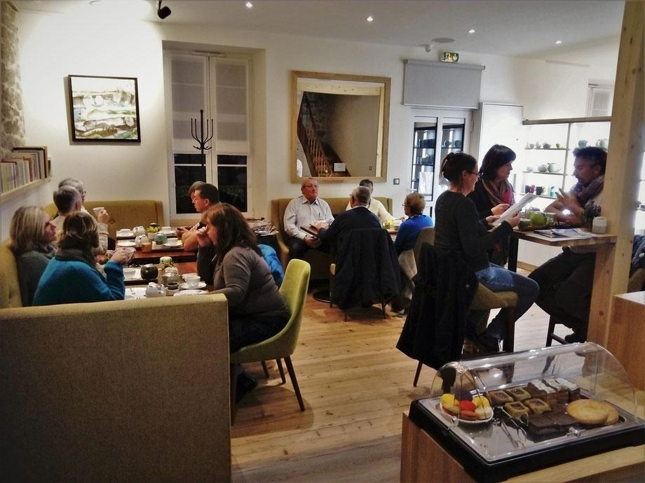 Salon de thé Tea Brao Roscoff - automne 2019