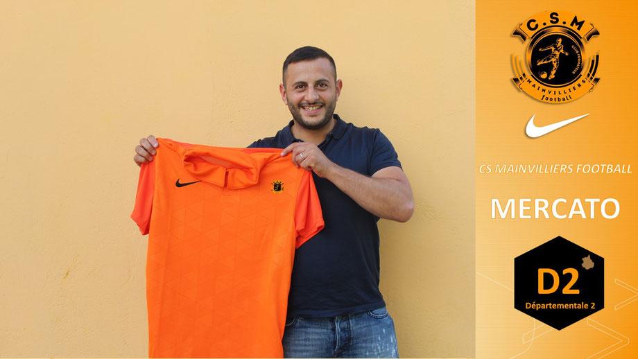 CS Mainvilliers Football Abdel Kribet