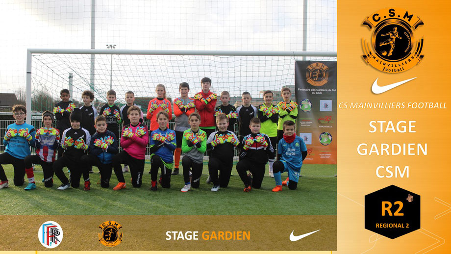 CS Mainvilliers Football Stage Gardien