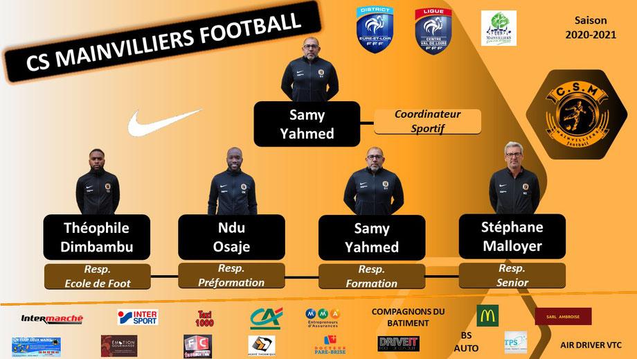 Organigramme CS Mainvilliers Football
