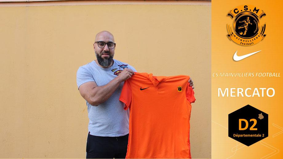CS Mainvilliers Football Mohamed