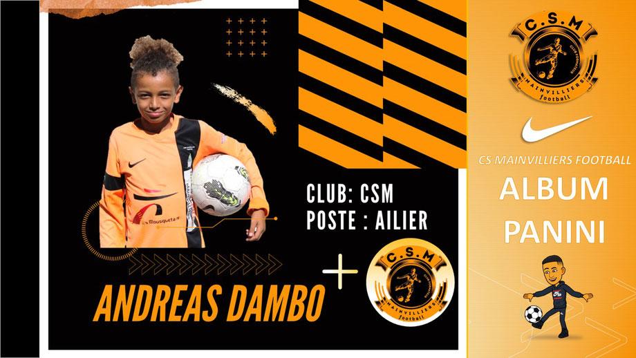 Andreas Dambo CS Mainvilliers Football