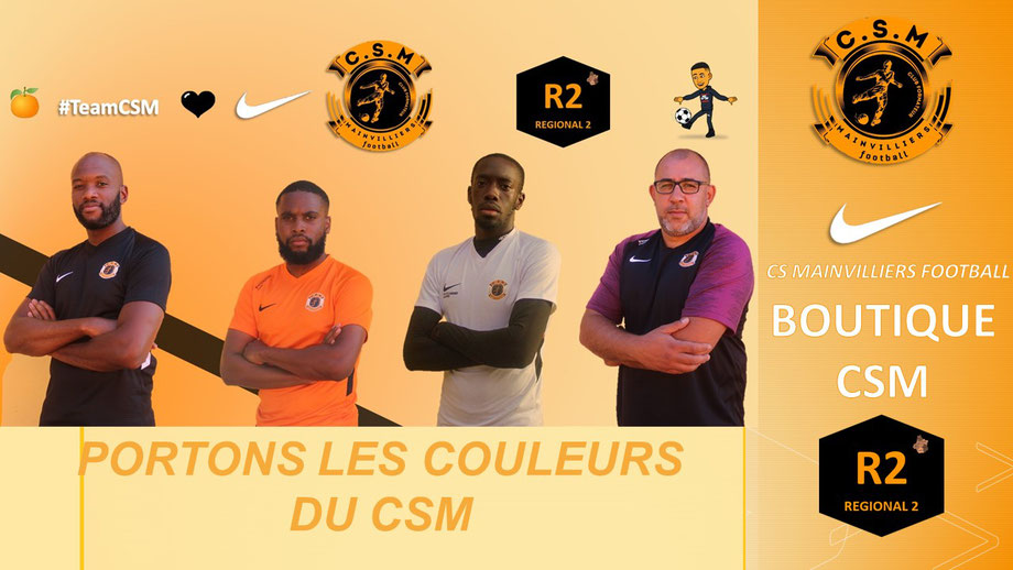 CS Mainvilliers Football Boutique CSM
