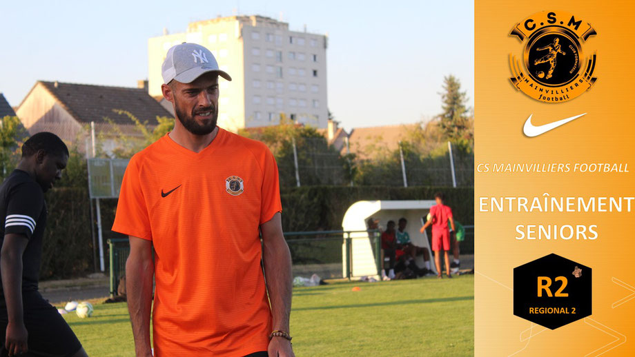 Baptiste Delanoue CS Mainvilliers Football
