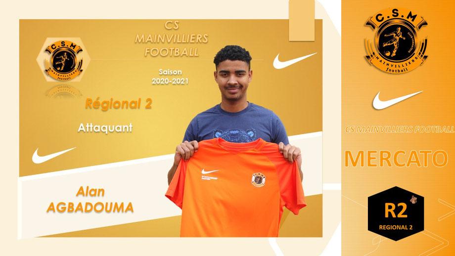 CS Mainvilliers Football Alan Agbadouma