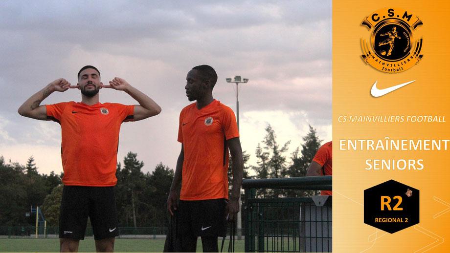 CS Mainvilliers Football Marvin Adelaide Jude Mayemba