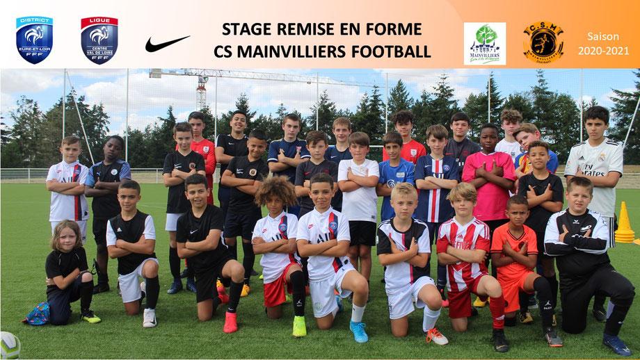 CS Mainvilliers Football Stage Juillet