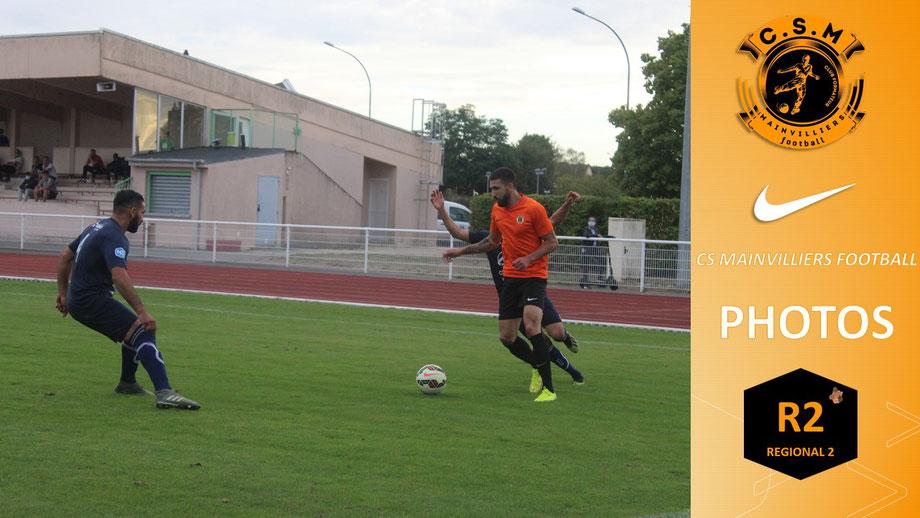 CSM - FCD : Les photos du matchs - CS Mainvilliers Football