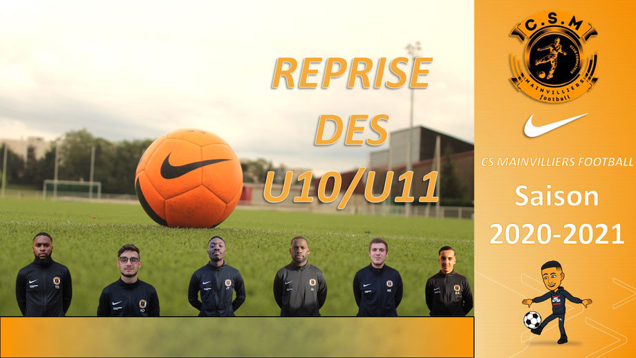 CS Mainvilliers Football Planning de reprise U10/U11