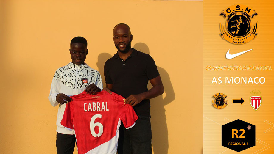 CS Mainvilliers Football Pape AS Monaco