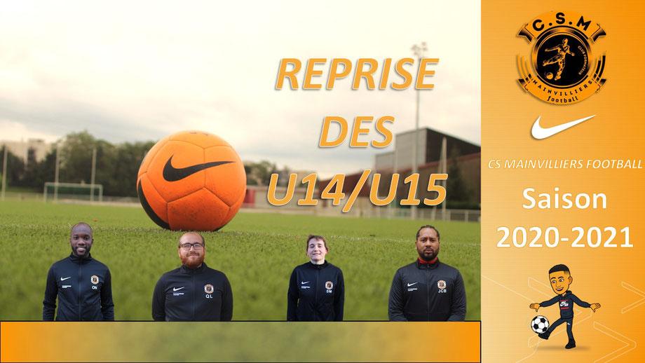 CS Mainvilliers Football Planning de reprise U14/U15