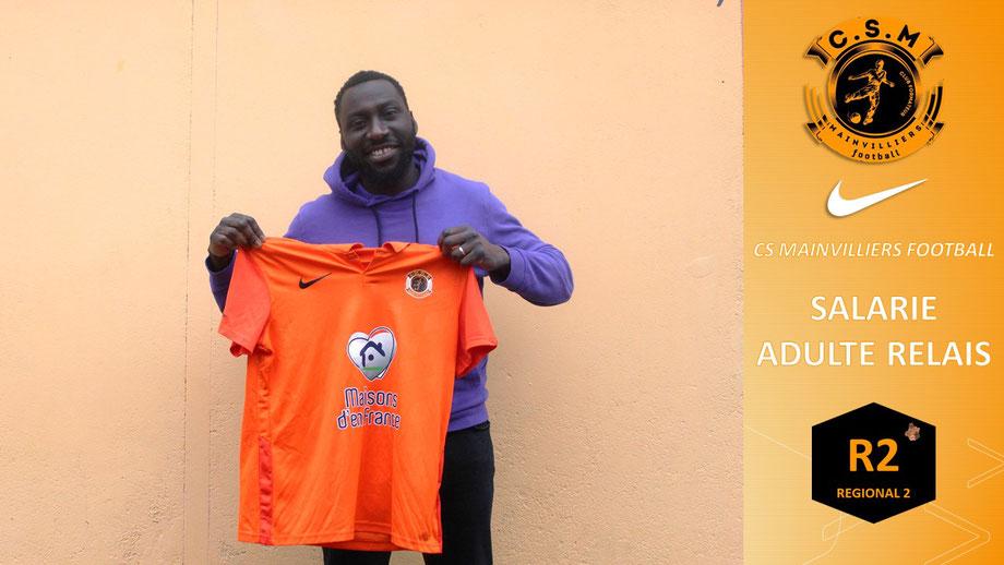 CS Mainvilliers Football Manra Kamara