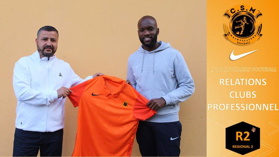 Ndu Osaje CS Mainvilliers Football