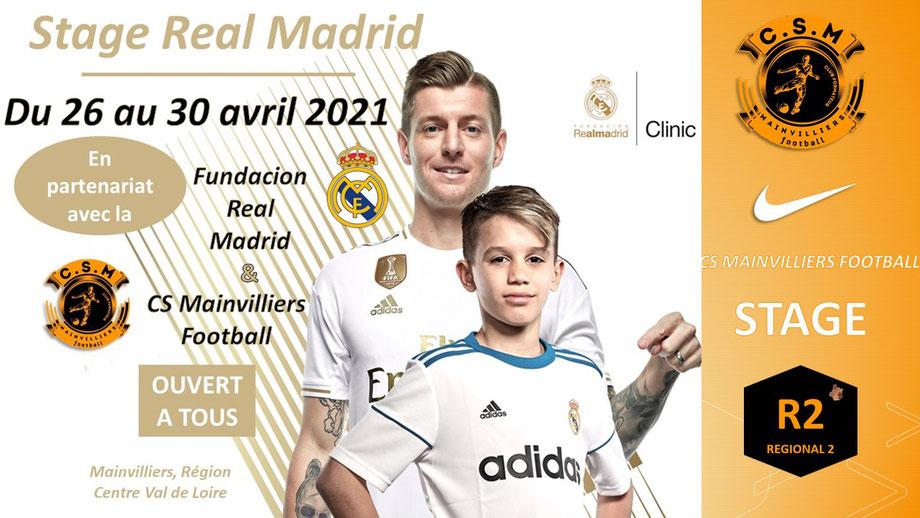 CS Mainvilliers Football Stage Real Madrid