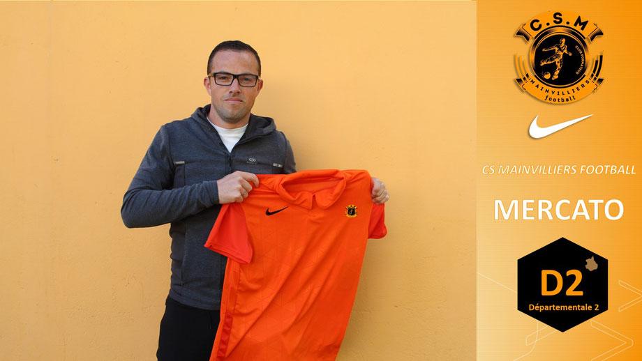CS Mainvilliers Football Clément Delanoue