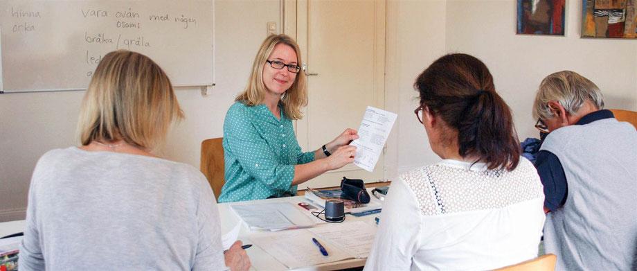 Deutsch Schwedisch Englisch Hamburg lernen Unterricht