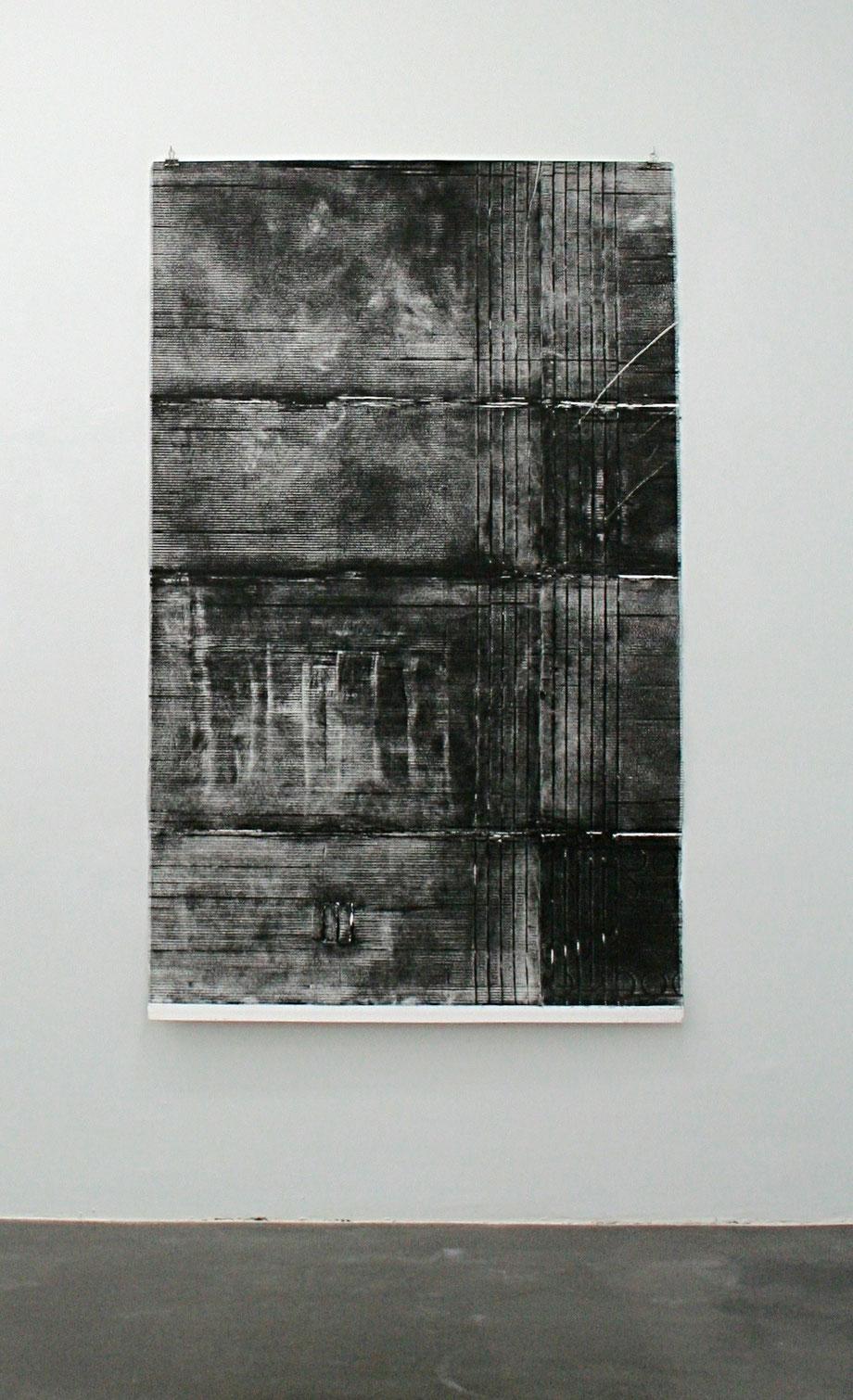 volvere, 2017,  167 cm x 124 cm, Tiefdruck auf Bütten
