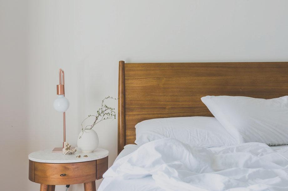 Bedroom Minimalist Biohacker Optimized Sleep