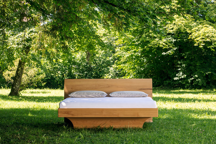 Bett in der Natur