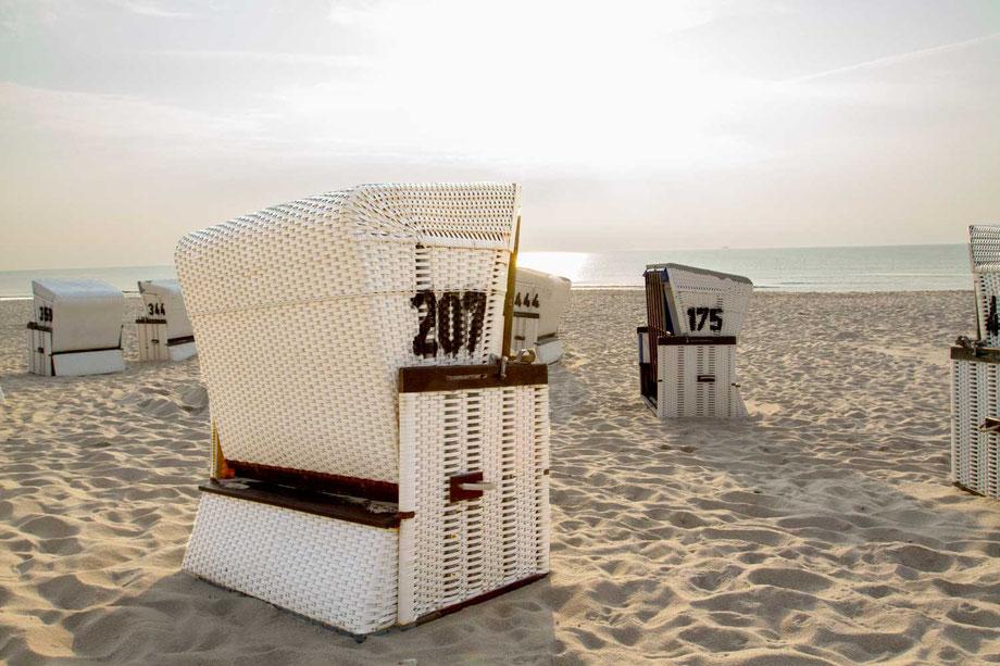 noch ist Platz am Strand.....