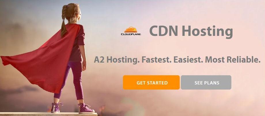 CDN Hosting di A2 Hosting