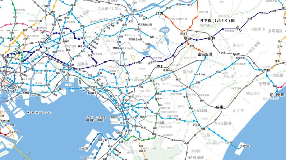 津喜線(両得電鉄区間)