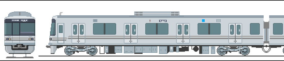 地下鉄神谷線の電車