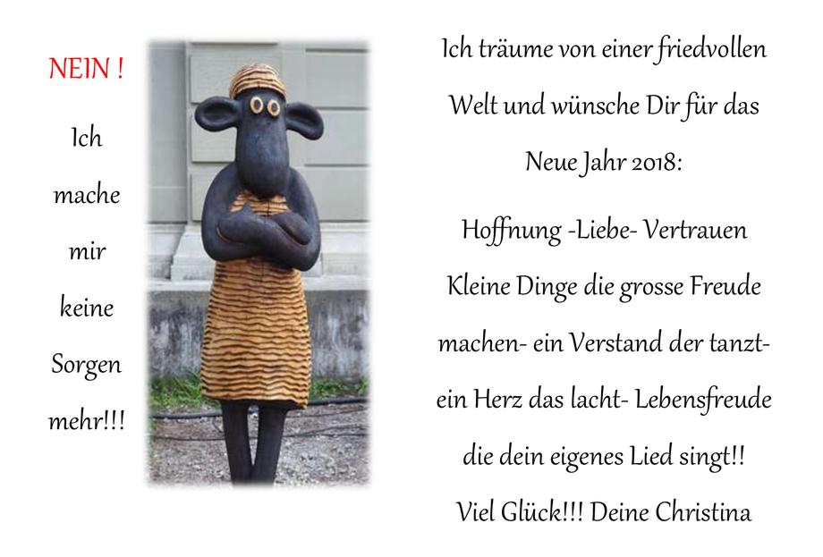 ©Neujahrswünsche2018 lebeundlache.ch
