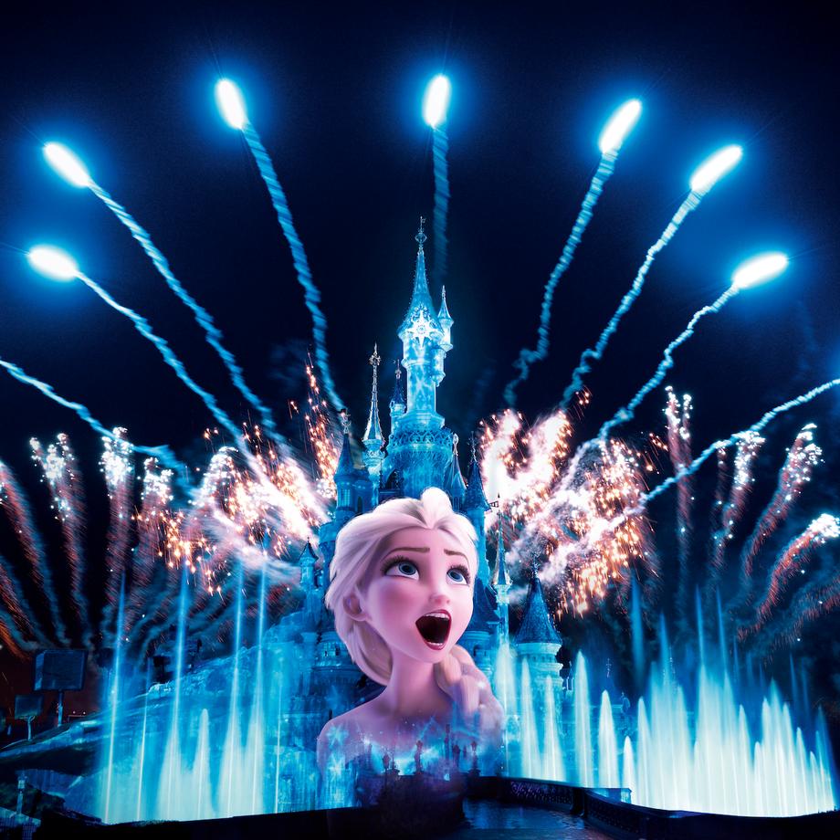 Frozen Celebration in Disneyland Paris!