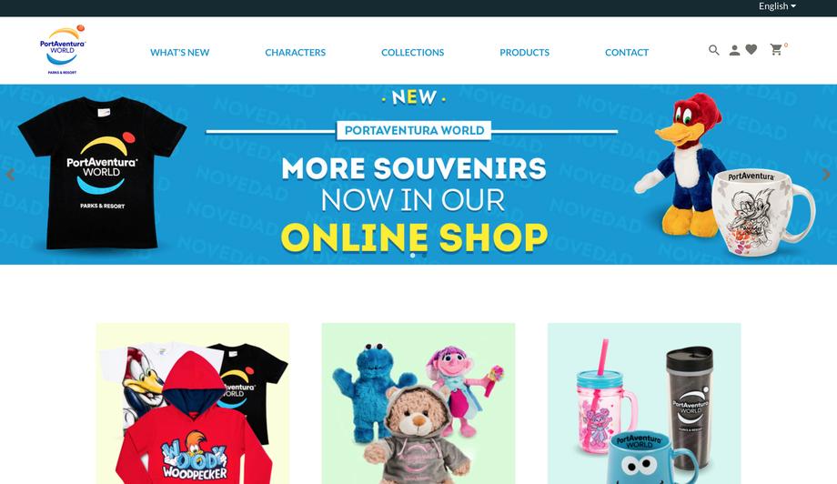 Onlineshop PortAventura