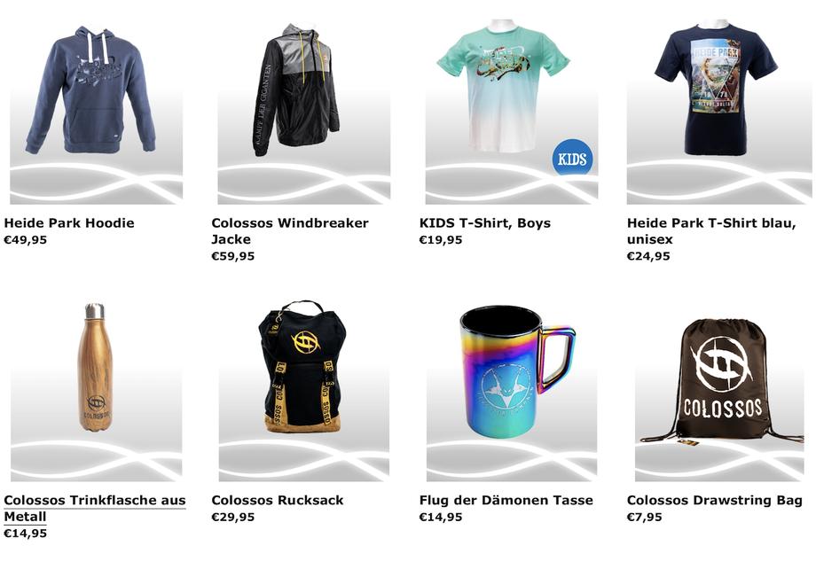 Eine Auswahl an den aktuellen Produkten