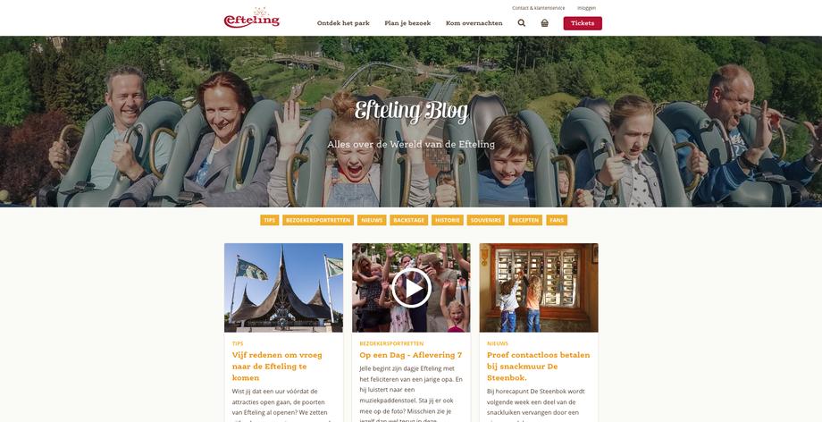 Efteling Blog