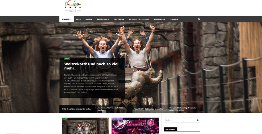 Phantasialand Blog