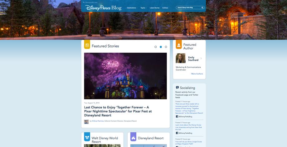 Disney Park Blog