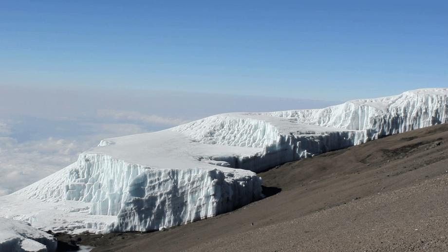 Glacier on Mount Kilimanjaro - Kilimanjaro Company
