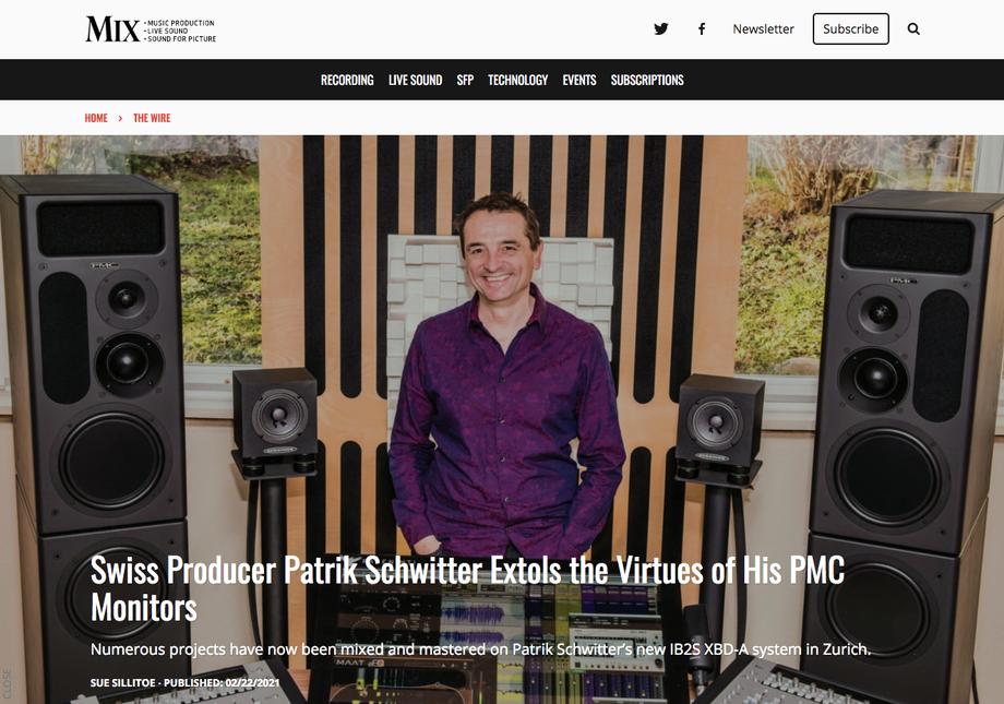 patrik schwitter_recording mixing mastering @ kroenleinstrasse zurich