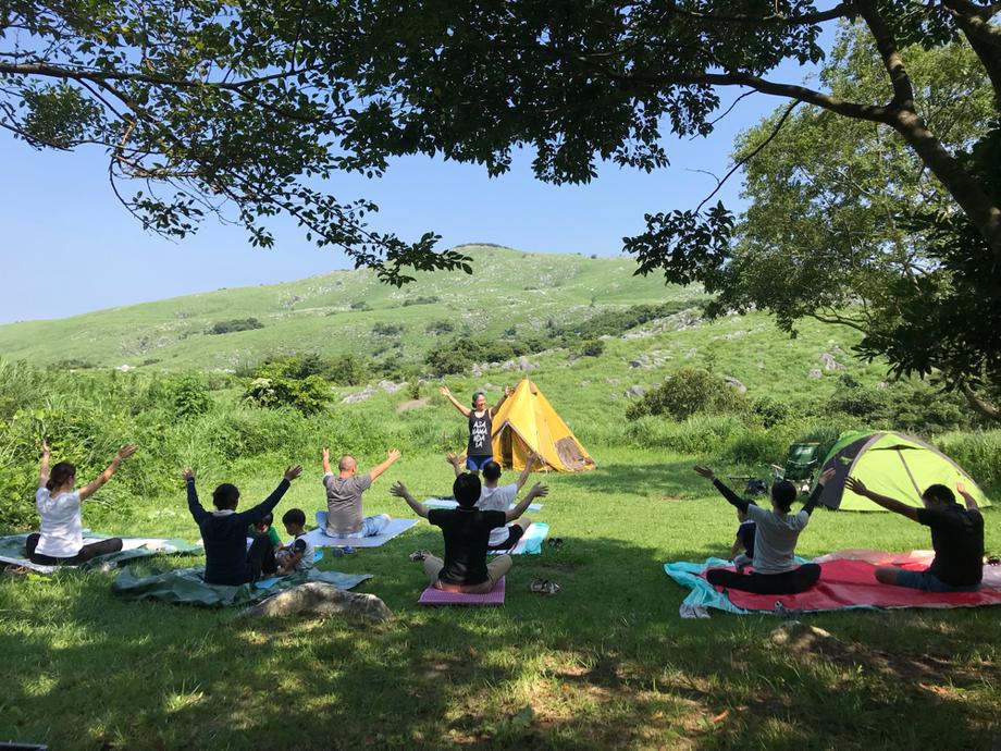 ゆうき先生のキャンプヨガ|北九州市若松区のカイロプラクティック・整体