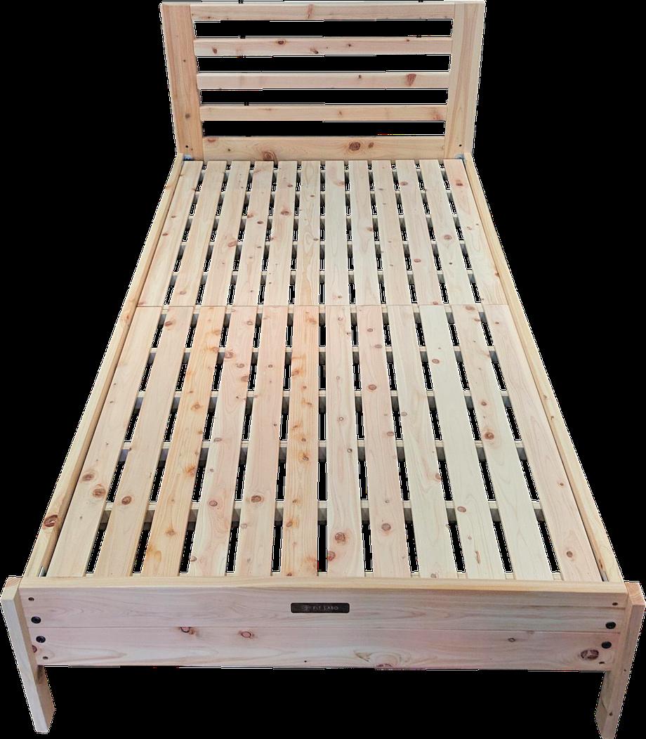 ひのきベッド日本製
