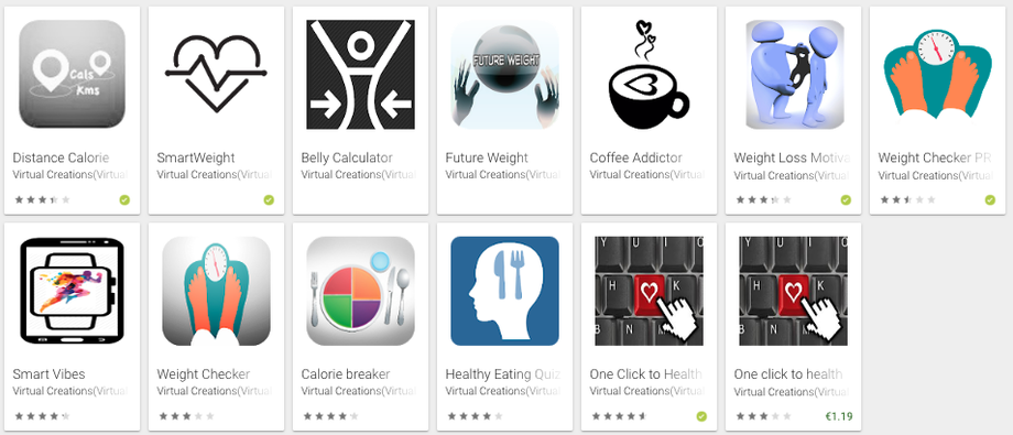 virtual personal trainer's apps