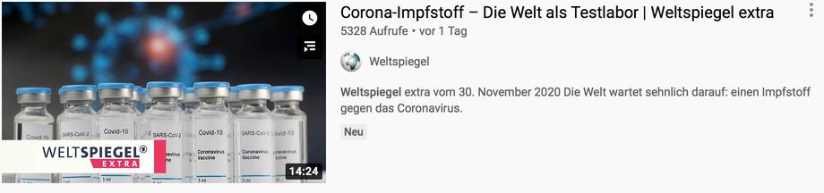 Voiceover für  Suerie Moon - Weltspiegel extra, ARD. Timecode: 0:56, 6:36, 9:49, 11:18