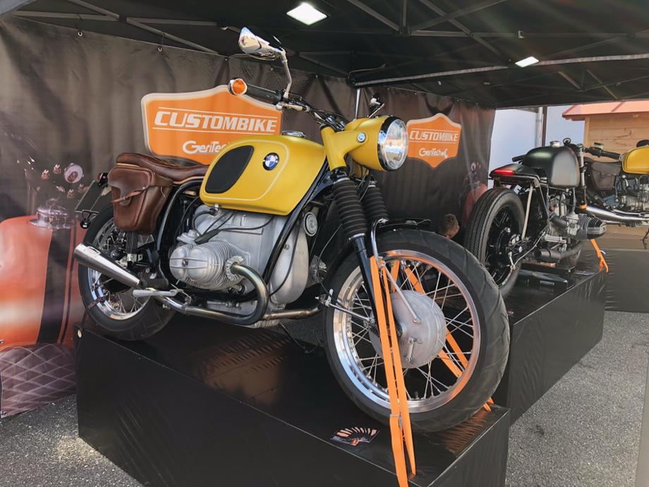 Messeaustellung 2018 mit dem neuen BMW R1000 Caferacer Projekt.