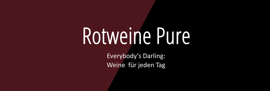 Weingut Hufnagel Neckenmarkt, Rotweine Pure - Weine für jeden Tag