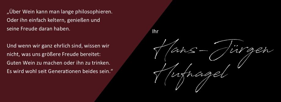 Über Wein kann man lange philosphieren, oder ihn einfach keltern, genießen und seine Freude daran haben, sagt der Winzer Hans-Jürgen Hufnagel aus Neckenmarkt.